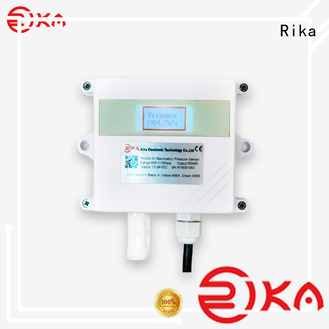 Rika air quality monitoring equipment manufacturer for humidity monitoring