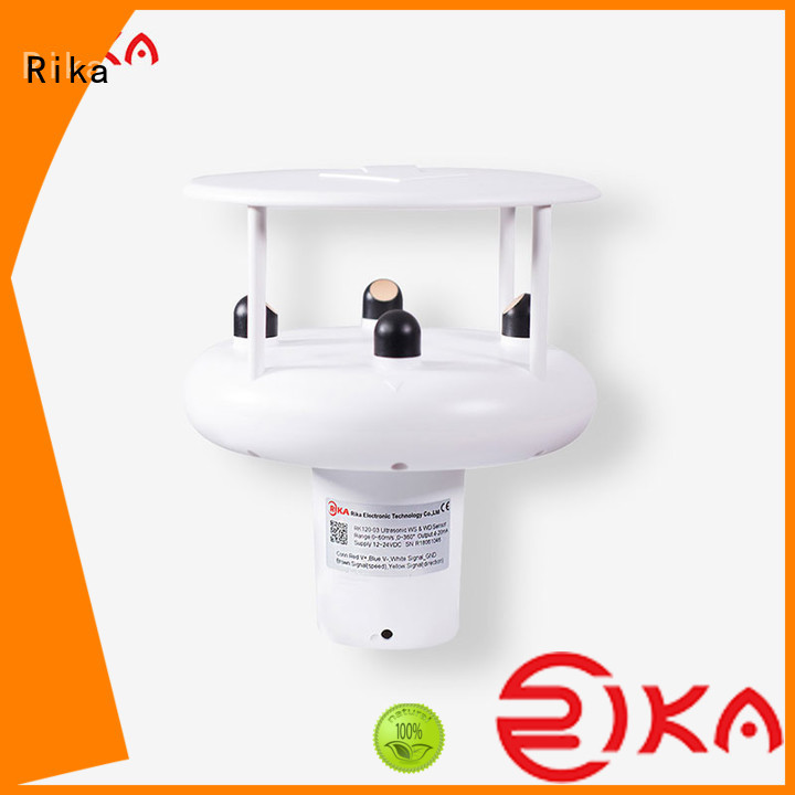 Rika wind speed monitor supplier for industrial applications