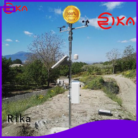 Rika top meteorological station factory for wind speed & direction detecting