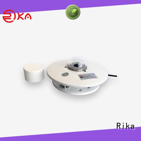 Rika best pyranometer solution provider for shortwave radiation measurement