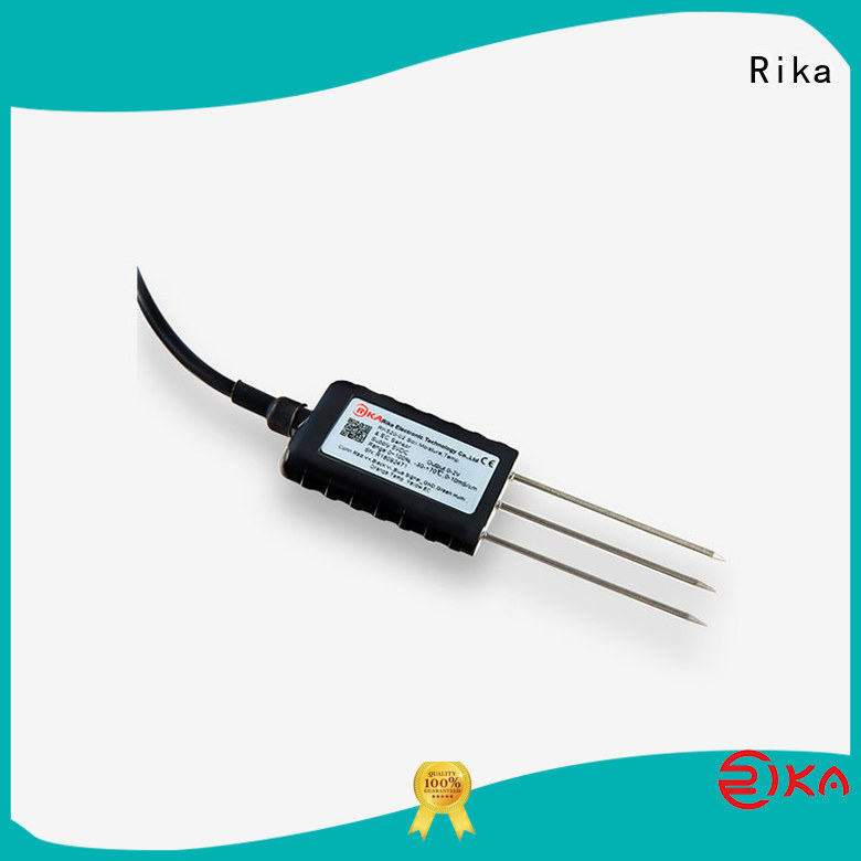 Rika top rated soil humidity sensor supplier for detecting soil conditions