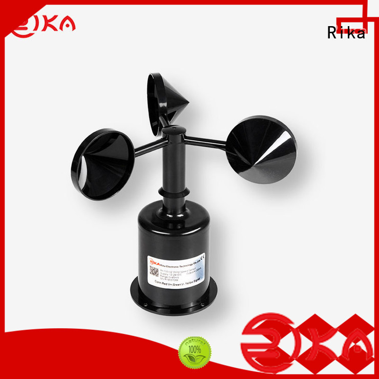 Rika perfect ultrasonic anemometer manufacturer for wind spped monitoring