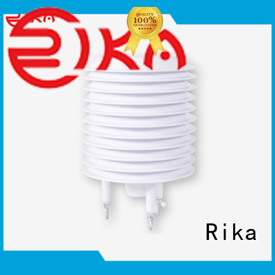 Rika good quality weather station radiation shield industry