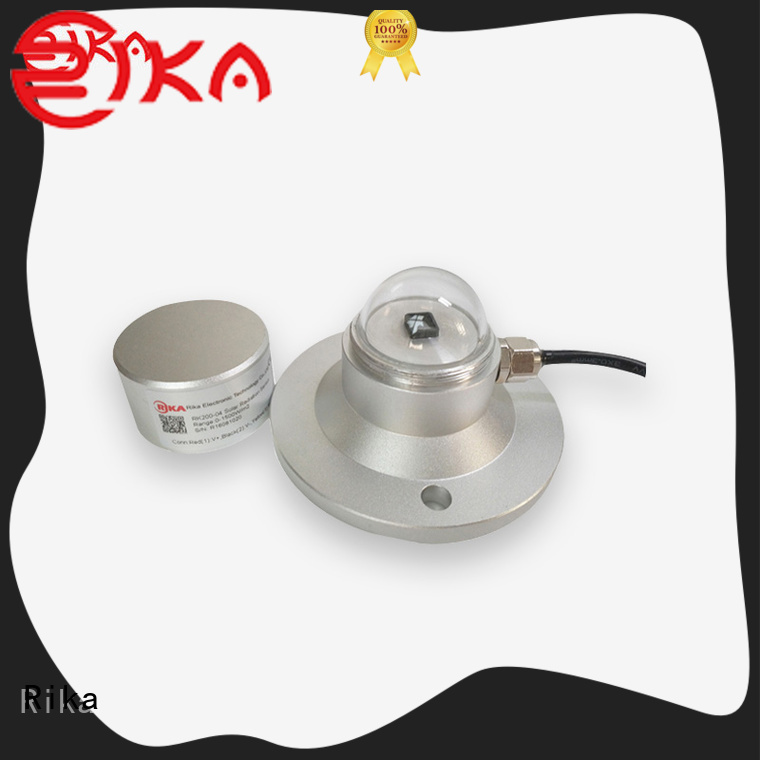 Rika solar radiation sensor factory for shortwave radiation measurement