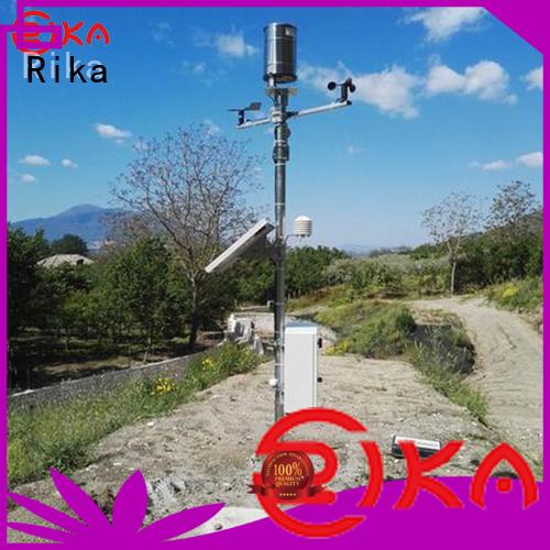 Rika weather sensor solution provider for soil temperature measurement