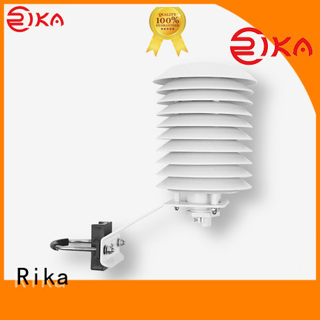 Rika weather station radiation shield manufacturer for relative humidity measurement