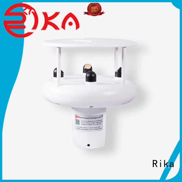 Rika professional ultrasonic anemometer supplier for wind spped monitoring