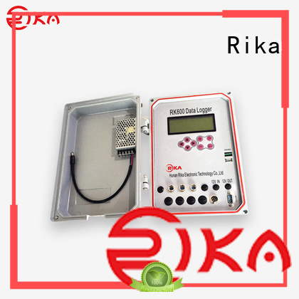 Rika data recorder solution provider for air quality monitoring