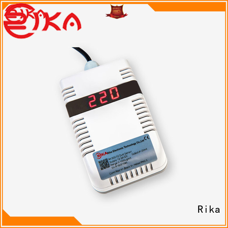 Rika air quality monitoring sensors solution provider for dust monitoring