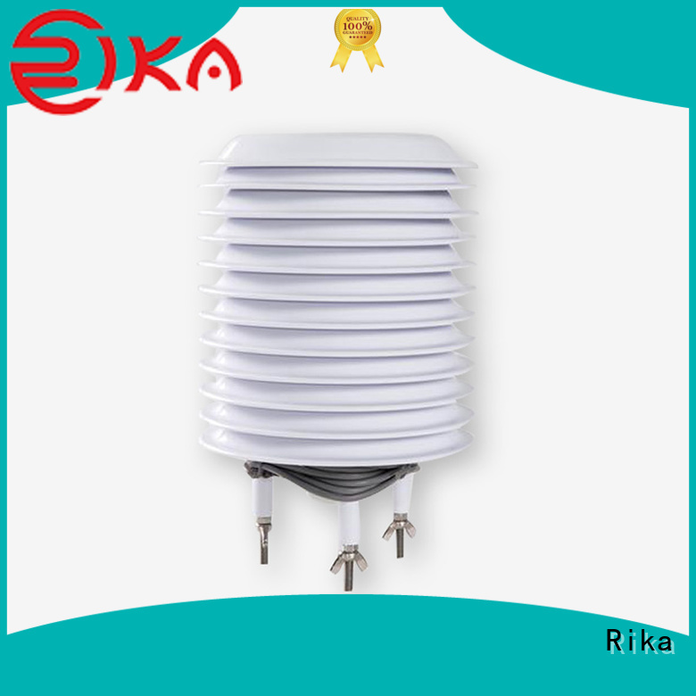 Rika best multi-plate radiation shield factory for temperature measurement
