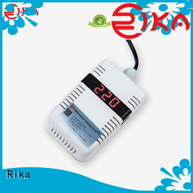 Rika professional air quality monitoring sensors factory for dust monitoring