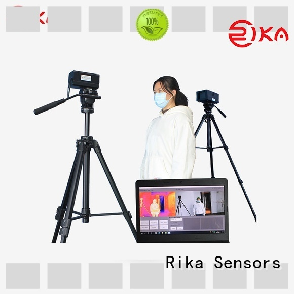 Rika Sensors fever screening systems supplier for temperature detection in crowded public places