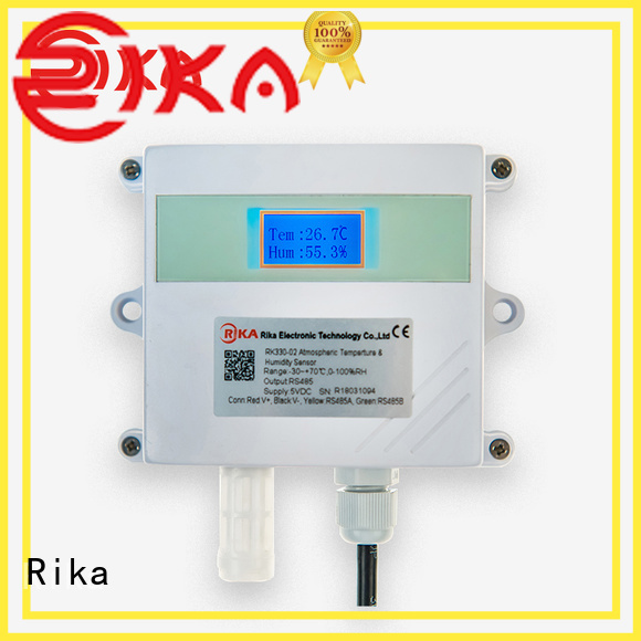 Rika professional ambient sensor supplier for atmospheric environmental quality monitoring