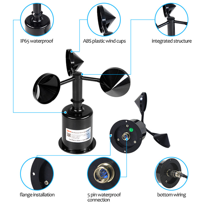 Rika Sensors anemometer wind direction solution provider for industrial applications-1