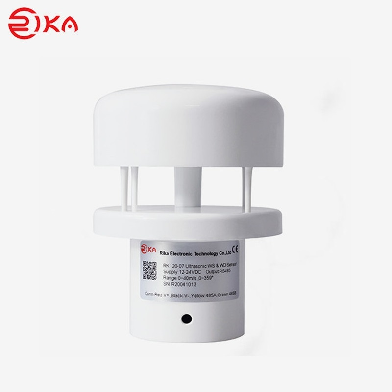 RK120-07 Ultrasonic Anemometer, Ultrasonic Wind Speed Direction Sensor