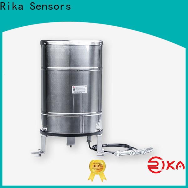 Rika Sensors rain water measurement supplier for hydrometeorological monitoring