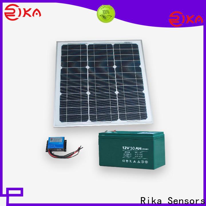 Rika Sensors great solar cell factory for sensor