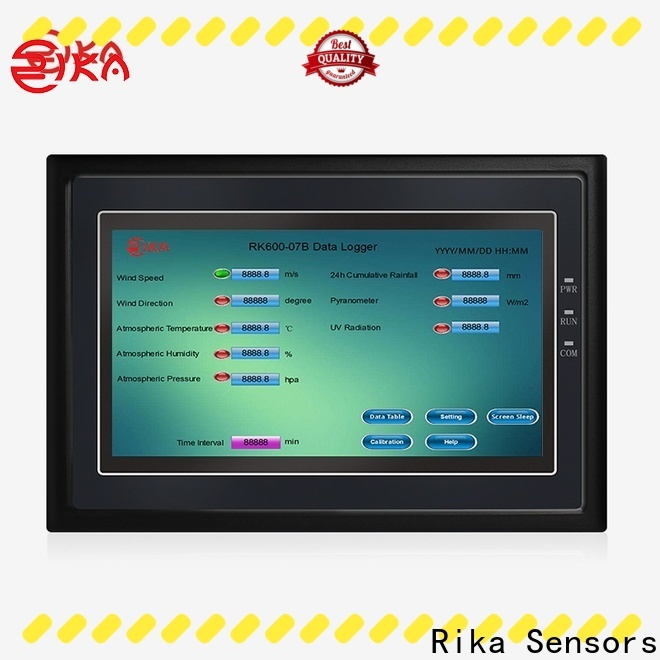 Rika Sensors best weather data loggers industry for data acquisition systems