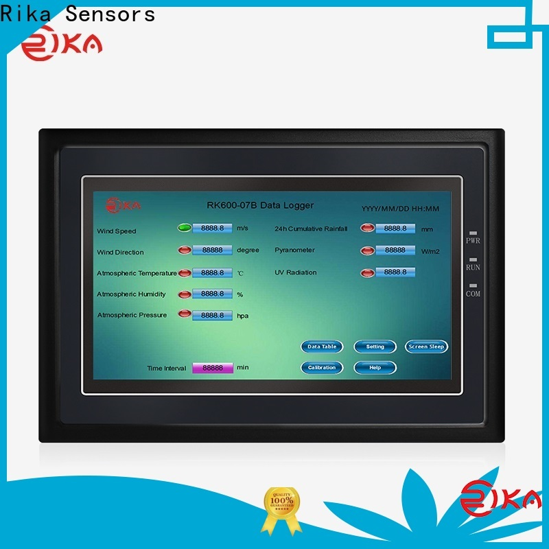 Rika Sensors professional weather data loggers supplier for water quality monitoring