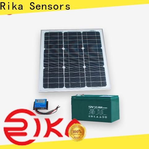 Rika Sensors solar cell manufacturer for sensor