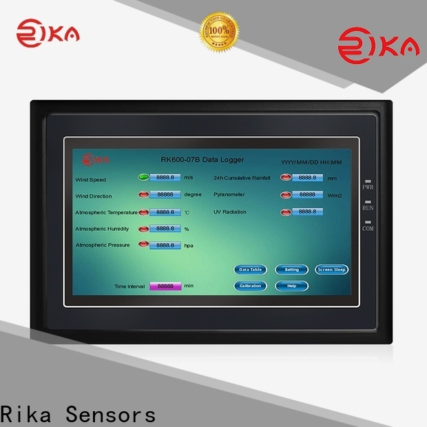 Rika Sensors perfect data recorder supplier for mesonet systems