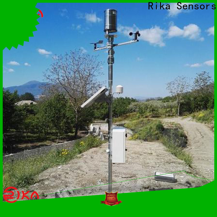 professional different types of weather stations solution provider for soil temperature measurement