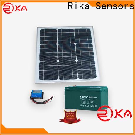 Rika Sensors solar panel system supplier for sensor