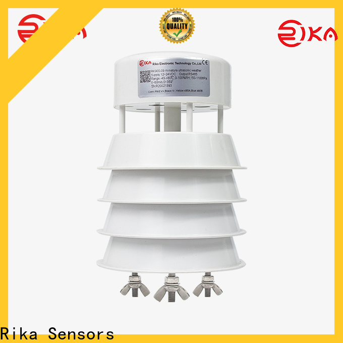 Rika Sensors top weather stations for home use industry for wind speed & direction detecting