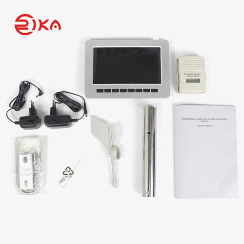 news-How does the home wireless weather station in the villa courtyard work and apply in life-Rika S