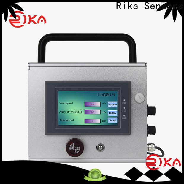 Rika Sensors best data logger industry for hydrometeorological stations