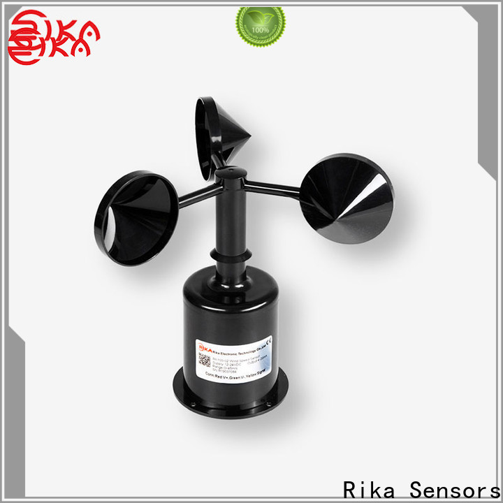 Rika Sensors anemometer wind direction solution provider for industrial applications