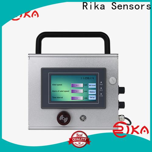Rika Sensors best rain logger solution provider for environmental applications