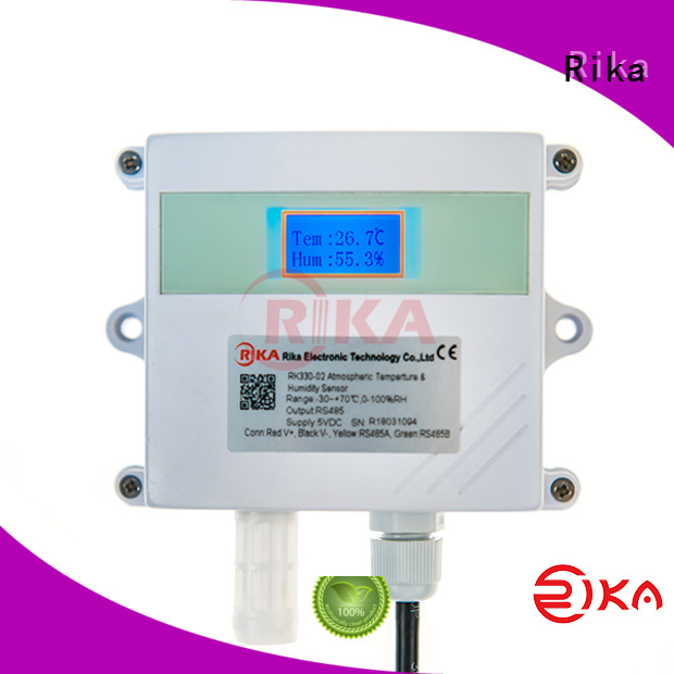Rika noise sensor solution provider for air temperature monitoring
