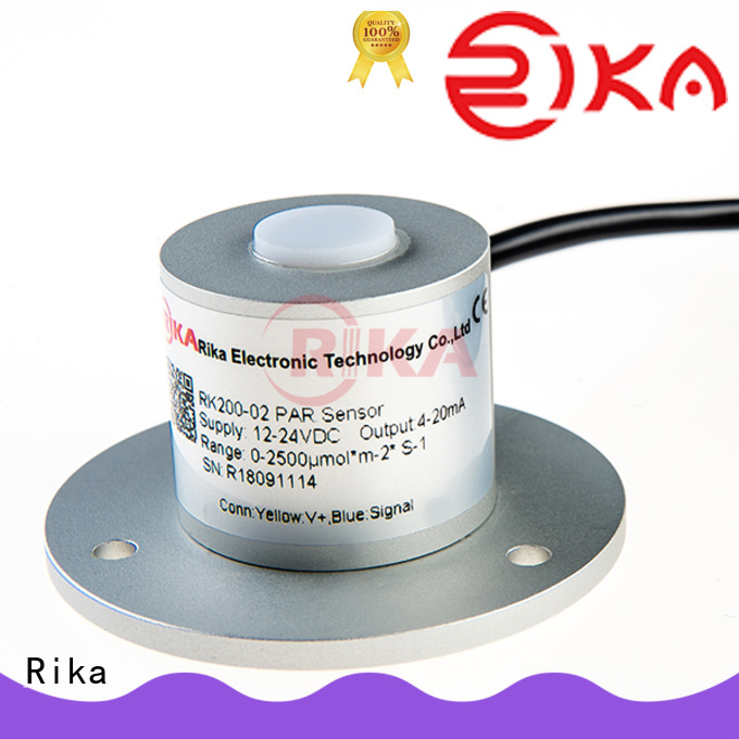 Rika best pyranometer solar radiation factory