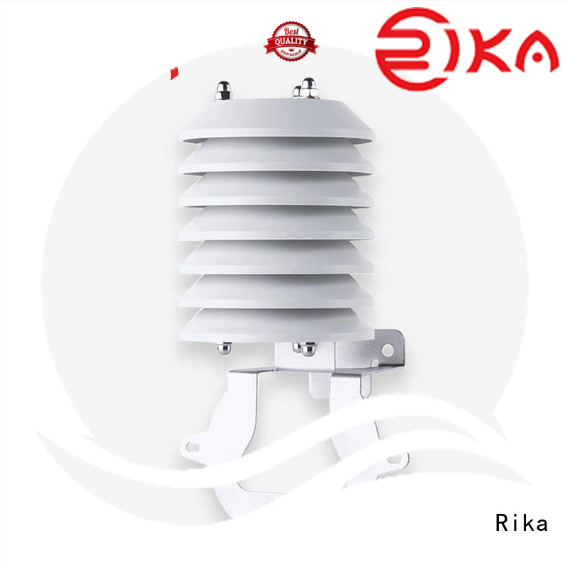 Rika perfect weather station radiation shield factory for temperature measurement