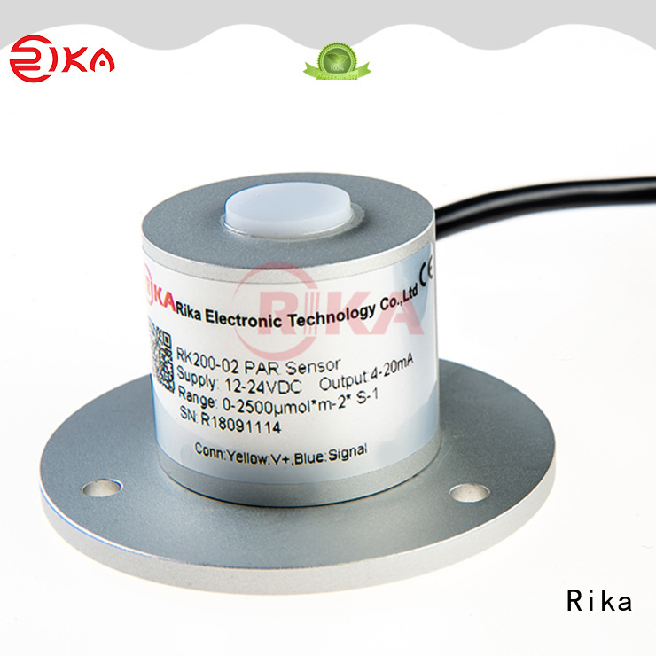 Rika professional solar pyranometer supplier for hydrological weather applications