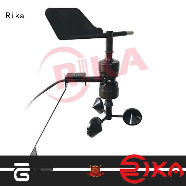 Rika wind detector supplier for wind spped monitoring