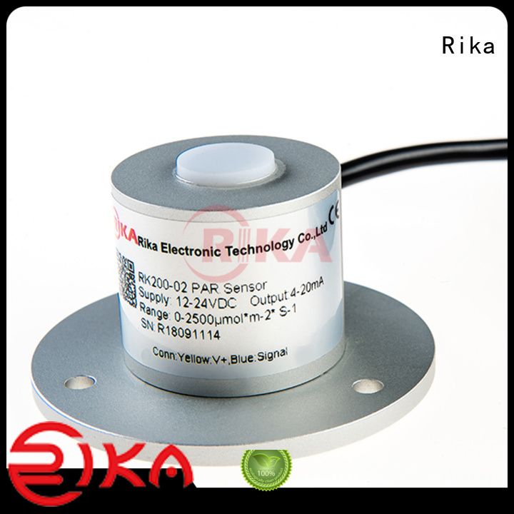 Rika top rated solar radiation sensor factory for ecological applications