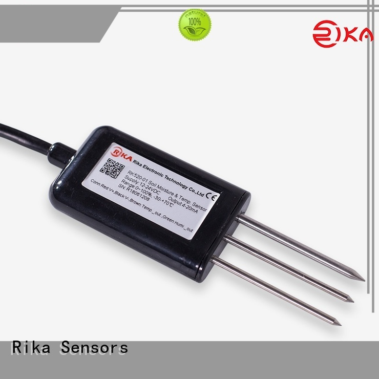 Rika Sensors soil salinity sensor factory for detecting soil conditions