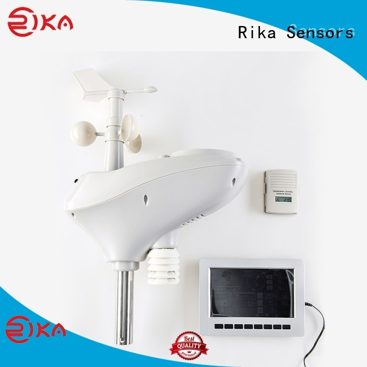Rika Sensors auto weather station manufacturer for soil temperature measurement