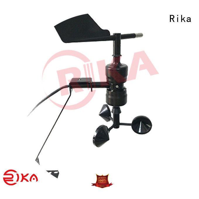 Rika wind speed device solution provider for meteorology field
