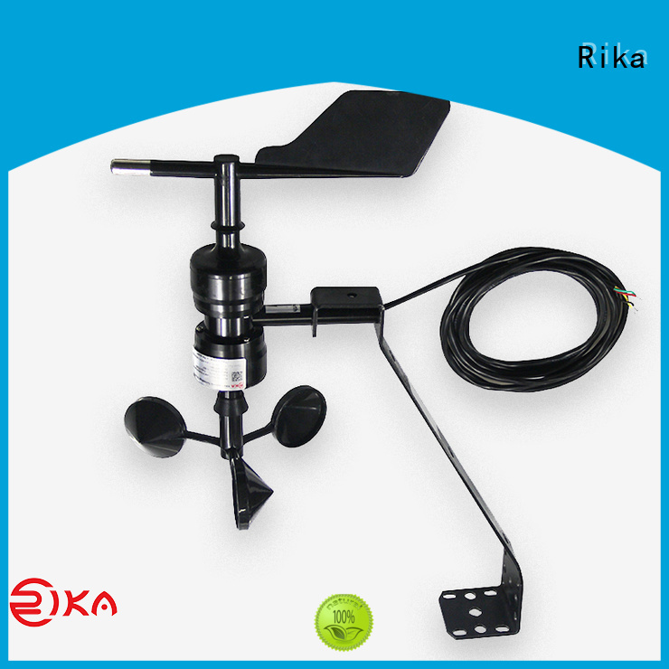 Rika anemometer solution provider for wind spped monitoring