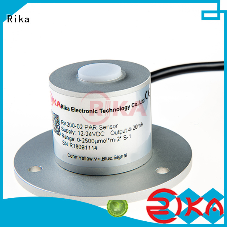 Rika professional pyranometer solar radiation manufacturer