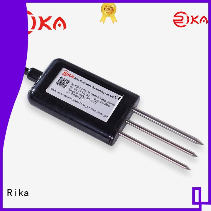 Rika professional moisture sensor factory for soil monitoring