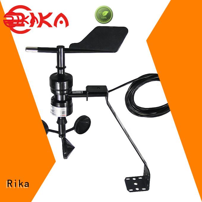 Rika professional wind speed meter manufacturer for meteorology field