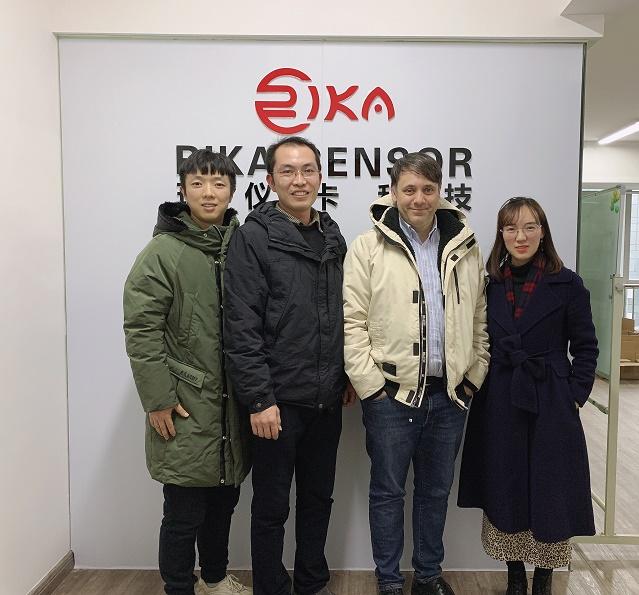 news-The customer from Brazil visited Rikasensor-Rika Sensors-img
