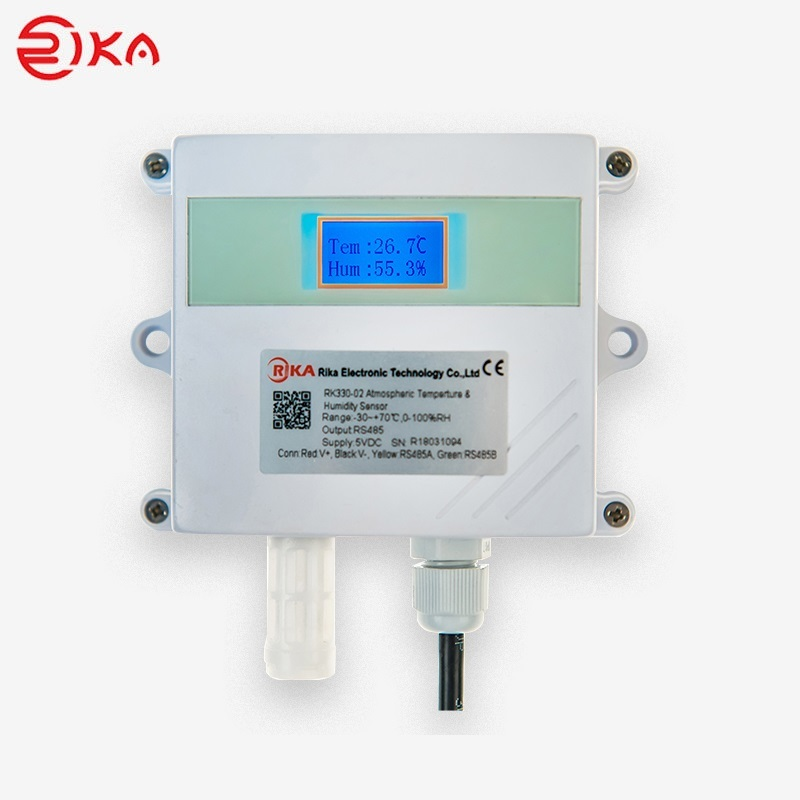 RK330-02 Wall-mounted Ambient Temperature & Humidity Sensor