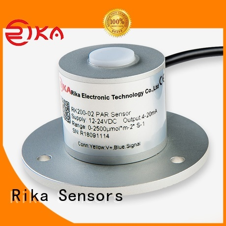 Rika Sensors solar irradiance sensor supplier for hydrological weather applications