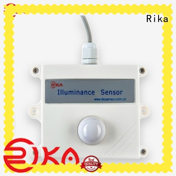 Rika top rated illuminance sensor supplier for ecological applications