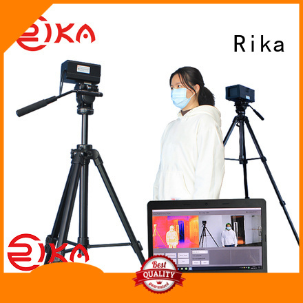 Rika best accurate weather station supplier for wind speed & direction detecting